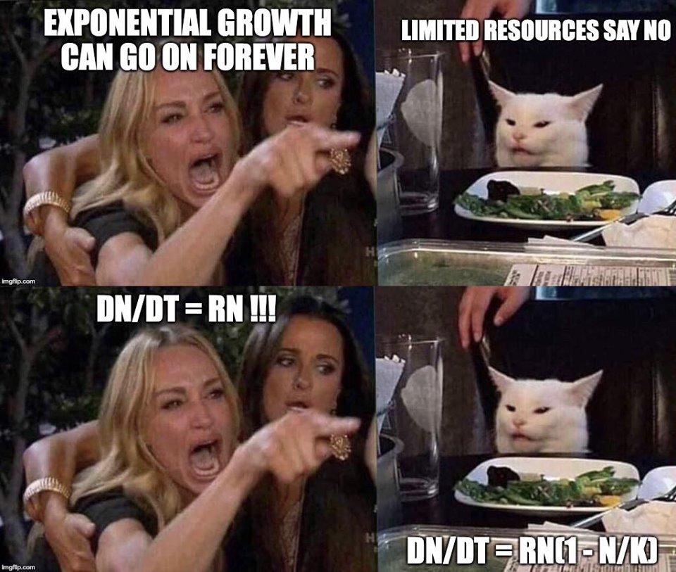 Bild - Unendliches Wachstum bei endlichen Ressourcen ist ausgeschlossen.