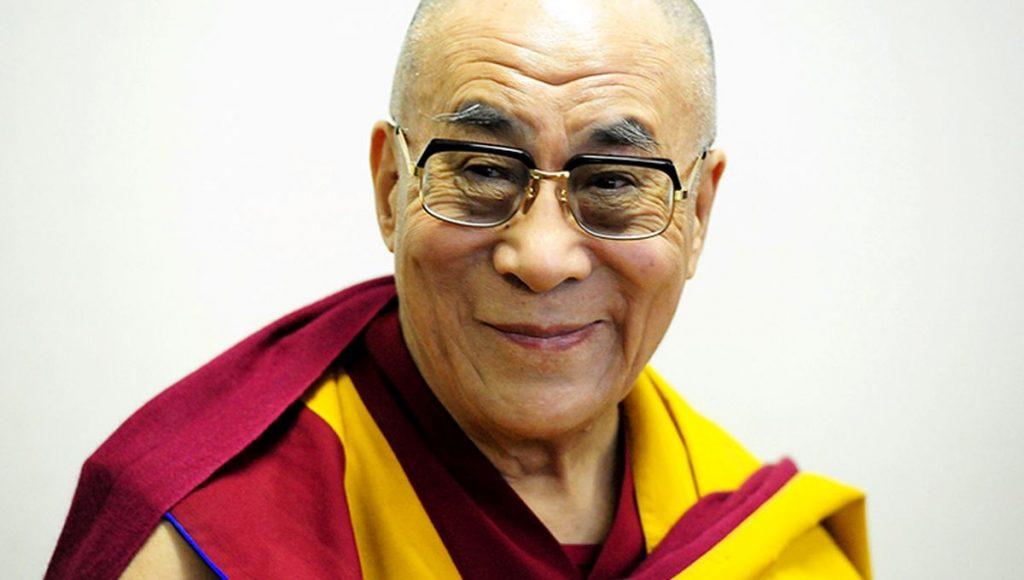 lächelnder Dalai Lama.